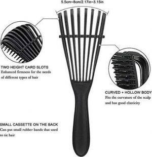 Profesionalus plaukų šepetys storų plaukų iššukavimui