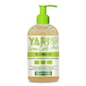 Yari Green Curls neapsunkinantis garbanų formavimo gelis