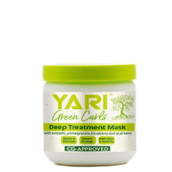 Yari Green Curls giliai drėkinanti plaukų kaukė