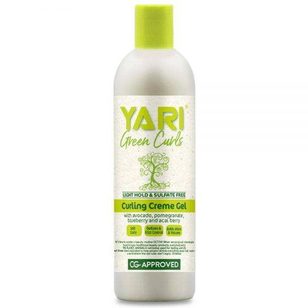 Yari Green Curls garbanų formavimo kremas - gelis