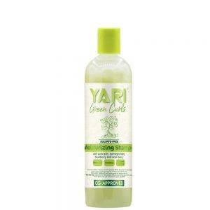 Yari Green Curls ypatingai drėkinantis švelnus kasdienis plaukų šampūnas